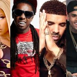 nicki-minaj-lil-wayne-drake-chris-brown