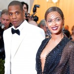 "NEW YORK, NY - MAY 05:  Jay-Z (L) and Beyonce attend the ""Charles James: Beyond Fashion"" Costume Institute Gala at the Metropolitan Museum of Art on May 5, 2014 in New York City.  (Photo by Mike Coppola/Getty Images)"